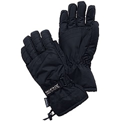 Regatta - Black mens igniter glove