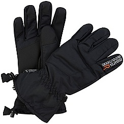 Regatta - Black mens transition waterproof glove