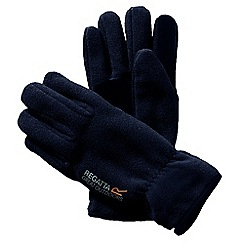 Regatta - Black mens kingsdale glove