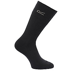 Regatta - Navy 5 pack thermal socks