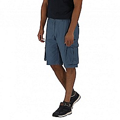 Regatta - Blue shoreway shorts