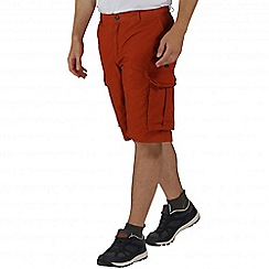 Regatta - Orange shoreway shorts