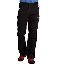 Regatta - Black fellwalk stretch trouser - long