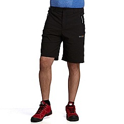 Regatta - Black fellwalk stretch short