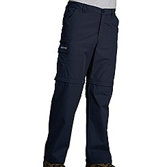 Regatta - Navy crossfell ii zip off trouser - long