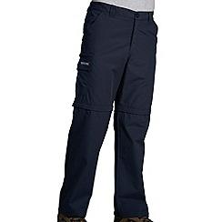 Regatta - Navy crossfell ii zip off trouser - regular