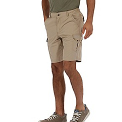 Regatta - Nutmeg cream delph showerproof shorts