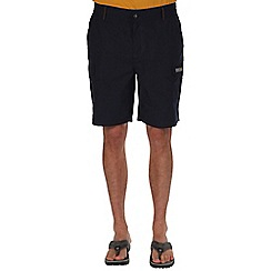 Regatta - Navy delph showerproof shorts