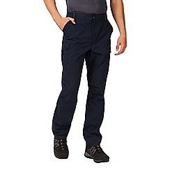 Regatta - Navy mens delph trousers