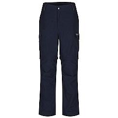 Regatta - Navy delph zip off trousers