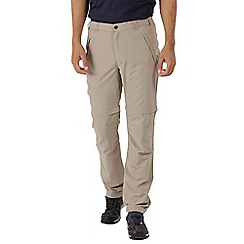 Regatta - Natural leesville zip off trousers