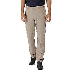 Regatta - Natural leesville zip off trousers
