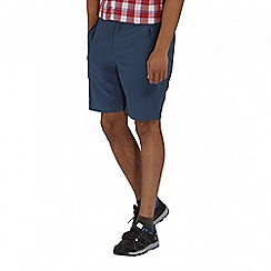 Regatta - Navy Leesville shorts