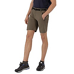 Regatta - Brown xert stretch shorts
