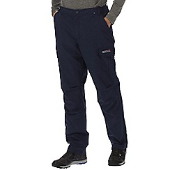 Regatta - Navy Lined delph trouser long length