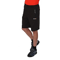 Regatta - Black fellwalk stretch shorts
