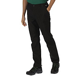 Regatta - Black Fenton trousers short length