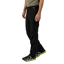 Regatta - Black Dayhike trousers longer length