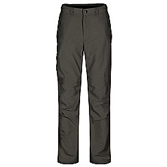 Regatta - Green Leesville trousers shorter length