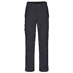 Regatta - Grey Leesville trousers shorter length