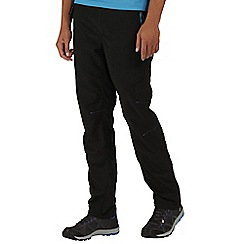 Regatta - Black Sungari trousers regular length