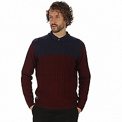 Regatta - Maroon 'Koby' sweater