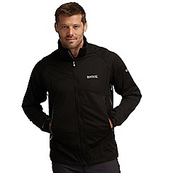 Regatta - Black static softshell jacket