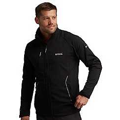 Regatta - Black nielson softshell jacket
