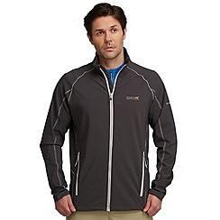 Regatta - Grey springrock softshell jacket