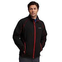 Regatta - Black springrock softshell jacket