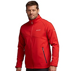 Regatta - Pepper red nebraska softshell jacket