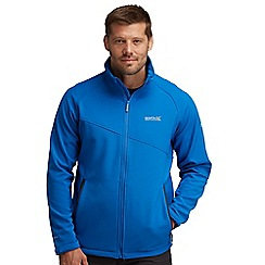 Regatta - Oxford blue nebraska softshell jacket
