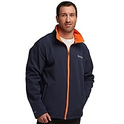 Regatta - Navy(orange) cera softshell jacket