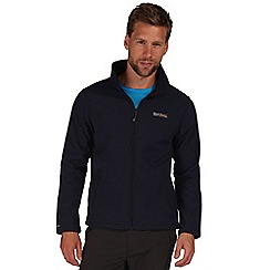 Regatta - Navy cera softshell jacket