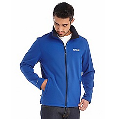 Regatta - Bright blue cera softshell jacket