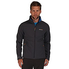 Regatta - Grey / blue Cera softshell jacket