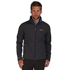 Regatta - Grey / blue Cera softshell jacket