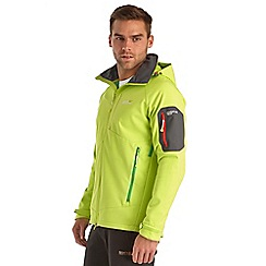 Regatta - Lime punch hewitts softshell jacket