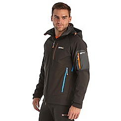 Regatta - Black hewitts softshell jacket