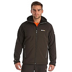 Regatta - Black frostburg softshell jacket