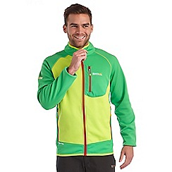 Regatta - Bright green diego softshell jacket