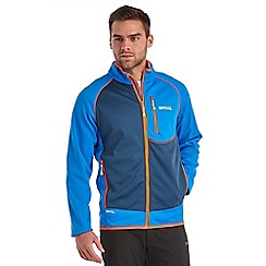 Regatta - French blue diego softshell jacket
