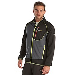 Regatta - Black diego softshell jacket