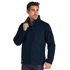 Regatta - Navy cato softshell jacket