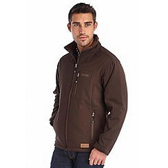 Regatta - Brown cato softshell jacket
