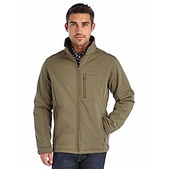 Regatta - Khaki cato softshell jacket