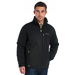 Regatta - Black cato softshell jacket
