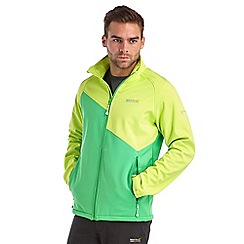 Regatta - Lime punch nebraska softshell jacket