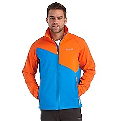 Regatta - Magma orange nebraska softshell jacket
