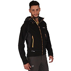 Regatta - Black borneo hybrid jacket